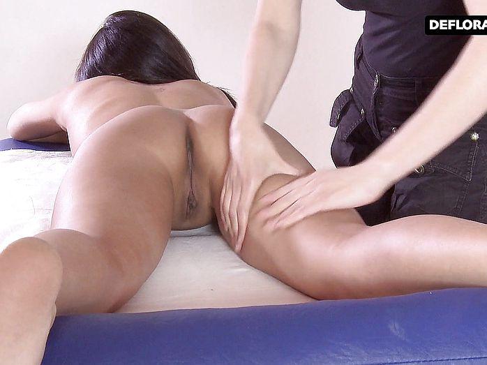 wonderful japanese Alga Ruhum massaged